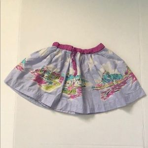 Mini Boden girls island skirt